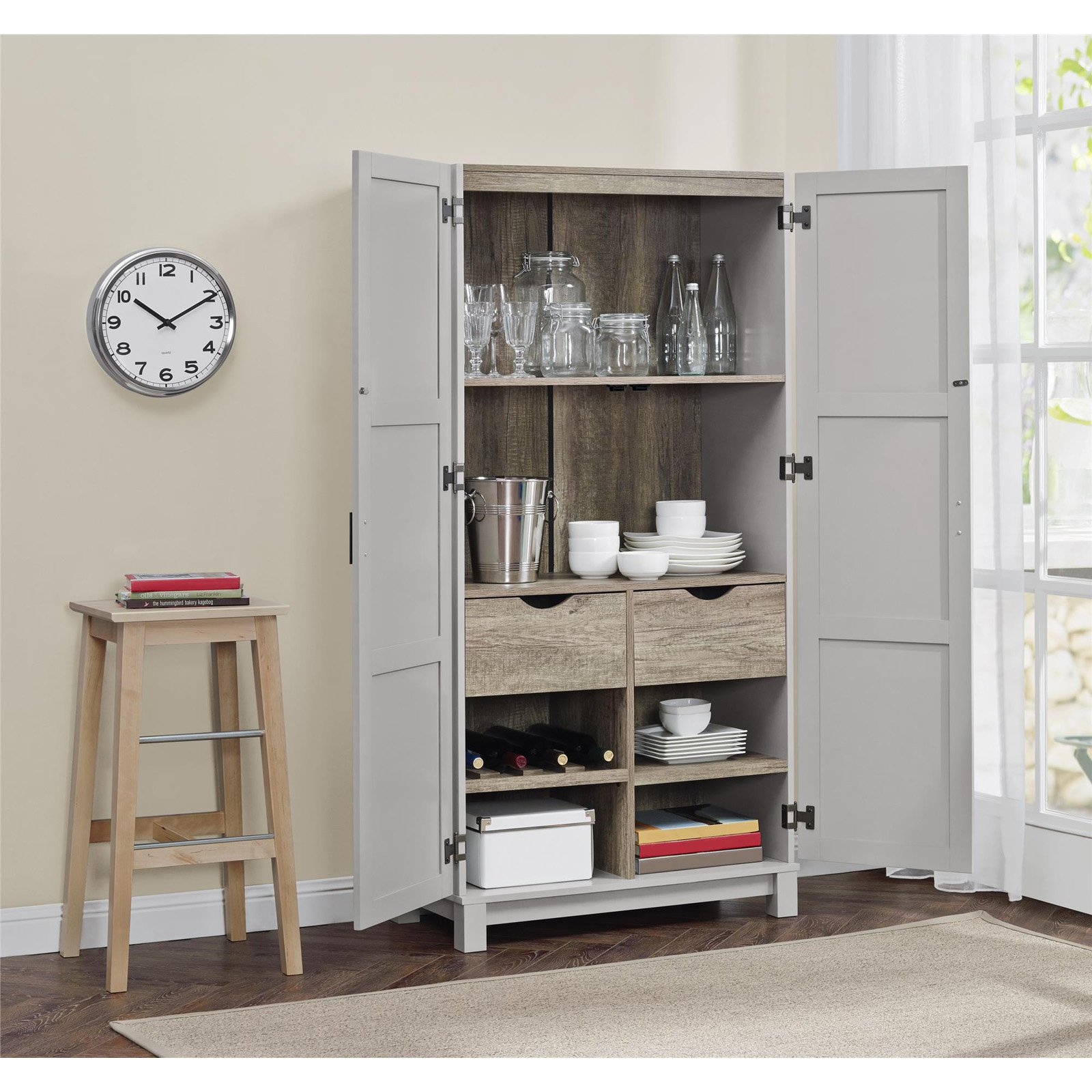 Altra Carver 64 in. Storage Cabinet