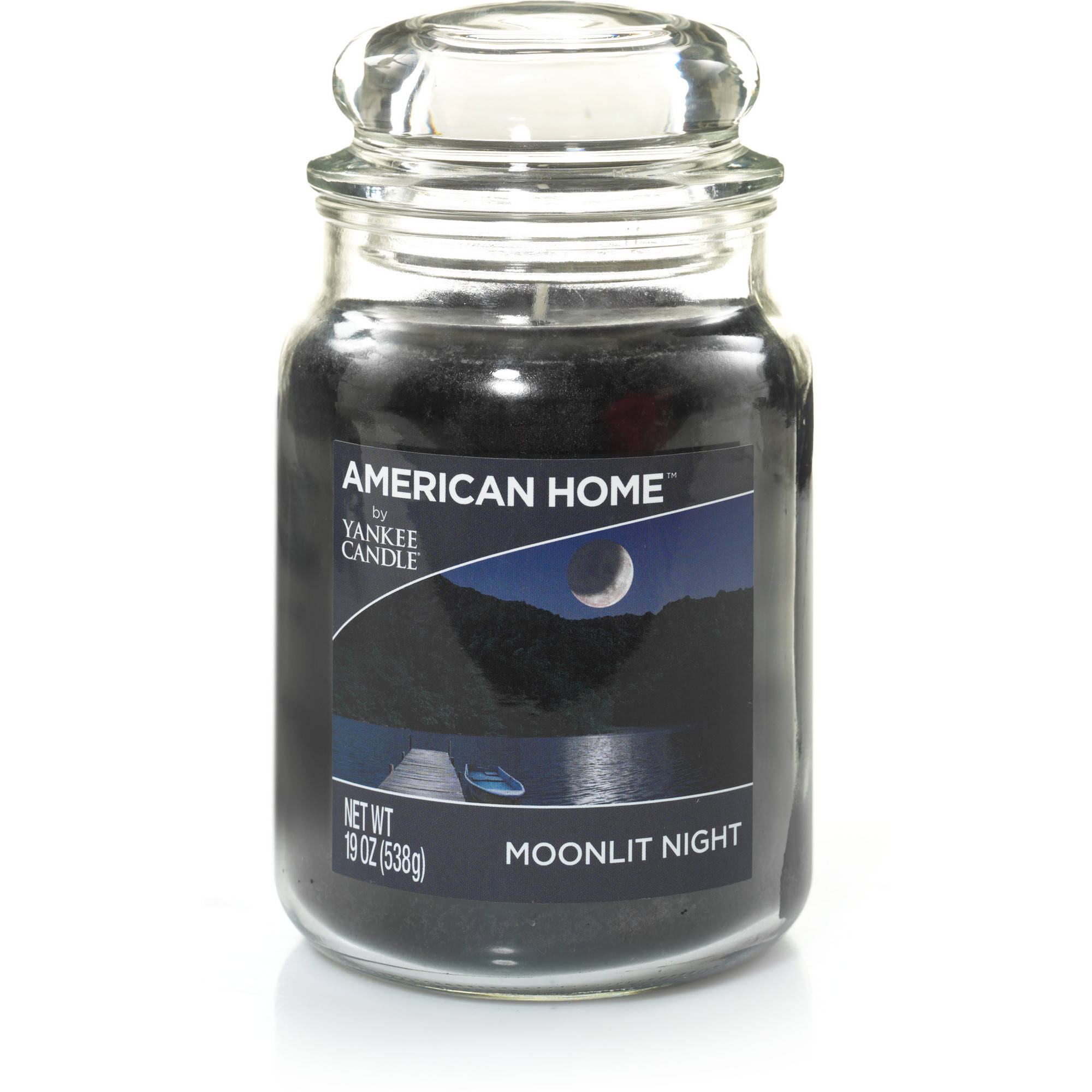 American Home by Yankee Candle Moonlit Night, 19 oz Large Jar