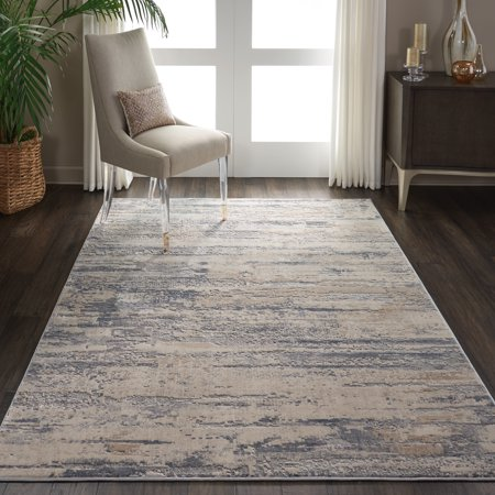 Nourison Rustic Textures Rustic Abstract Beige/Grey Area Rug