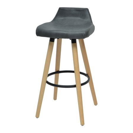 Copen Bar Stool (set of 2), (Anthracite Bar)