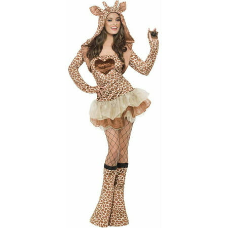 giraffe womens adult halloween costume