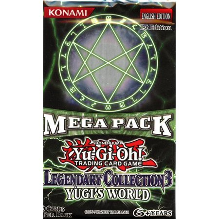 Yu-Gi-Oh Legendary Collection 3 Booster Pack [Sealed -