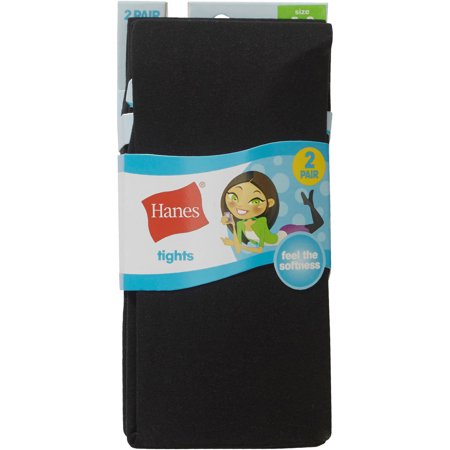 Little Stockings (Hanes Tights, 2 Pairs (Little Girls & Big)