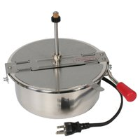 Great Northern Popcorn Poppers 8 Ounce Replacement Popcorn Kettle, Stainless Steel