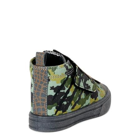 Dino Casual High Top Sneaker (Toddler Boys)
