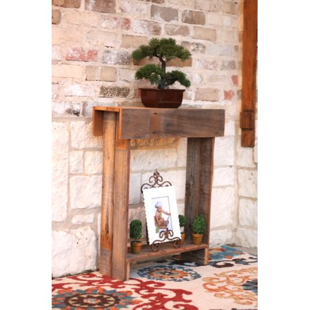Rustic Skinny Wall Table ()