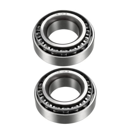 "15123/15245 Tapered Roller Bearing Cone and Cup Set 1.25"" Bore 2.4409"" Outer Diameter 0.715"" Width 2pcs"