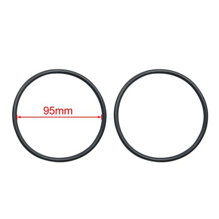 5pcs Black NBR O-Ring Seal Gasket Washer for Automotive Car 95mm x 5.3mm - image 1 of 2