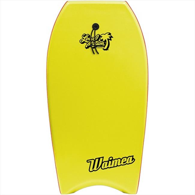 Local Motion L120-YW Waimea 42 In. Body Board, Yellow