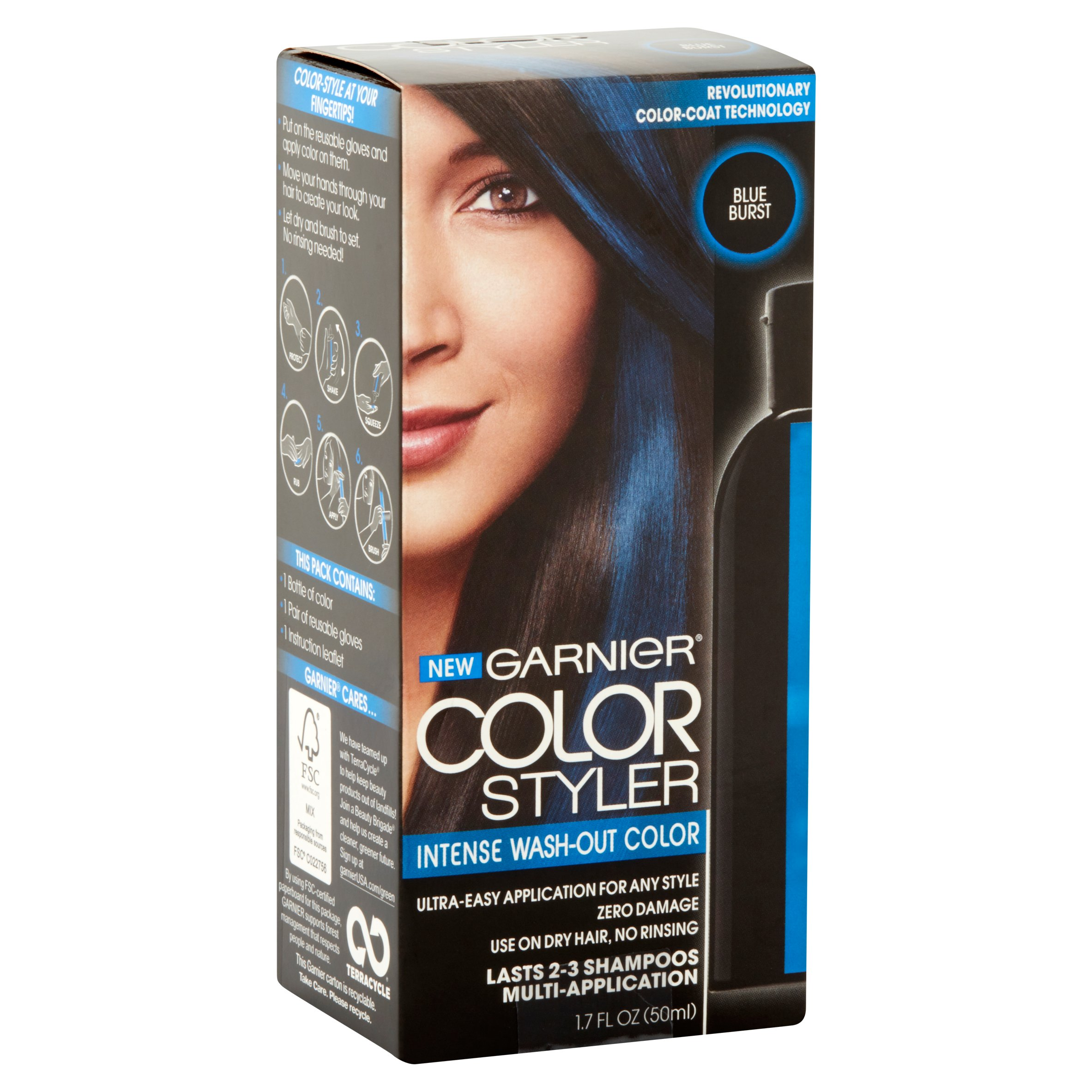 Garnier Color Styler Pink Pop Intense Wash Out Color 50 Ml