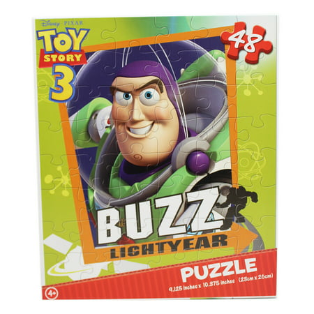 Disney Pixar's Toy Story 3 Buzz Lightyear Portrait Kids Jigsaw Puzzle (48pc)
