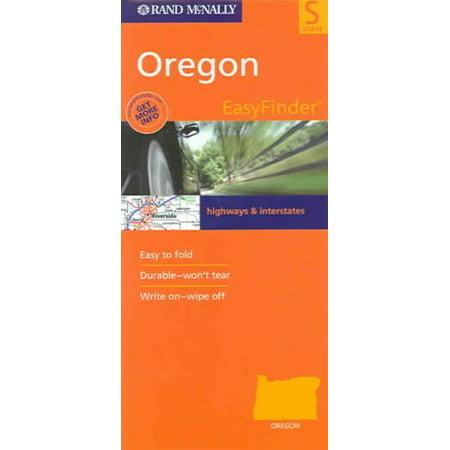 Rand Mcnally Oregon Easyfinder Map: 9780528994944