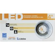 liteline baffle remodel led recessed light kit