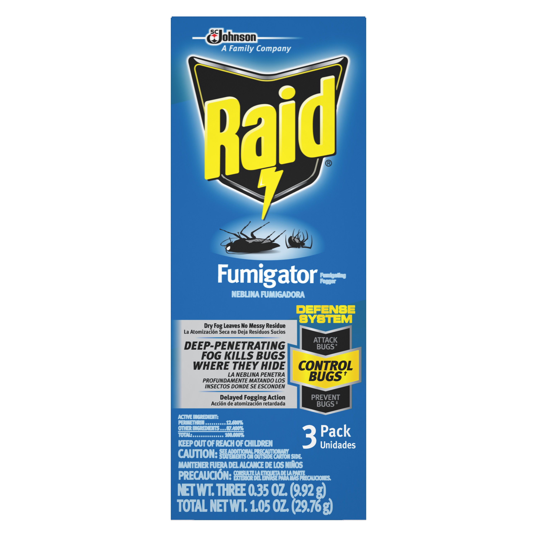 Raid Fumigator 3 Pack
