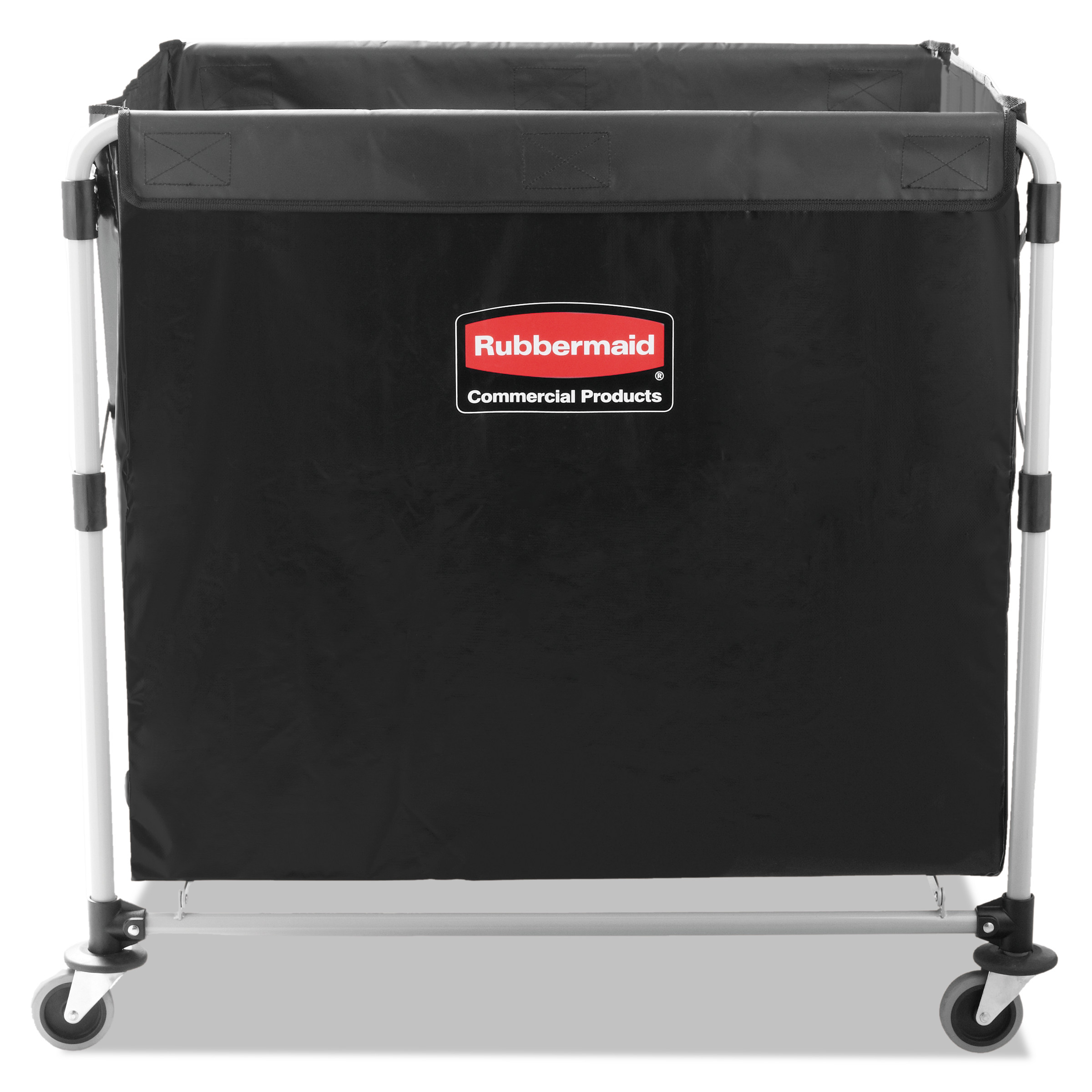 rubbermaid commercial collapsible xcart steel eight bushel cart 24 1