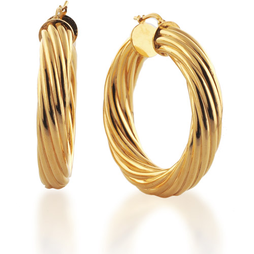 Dolce Vita 18kt Goldtone Large Hoop Earrings