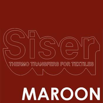Siser Easyweed Maroon Iron Heat Transfer Vinyl Roll HTV (Choose Your Size)