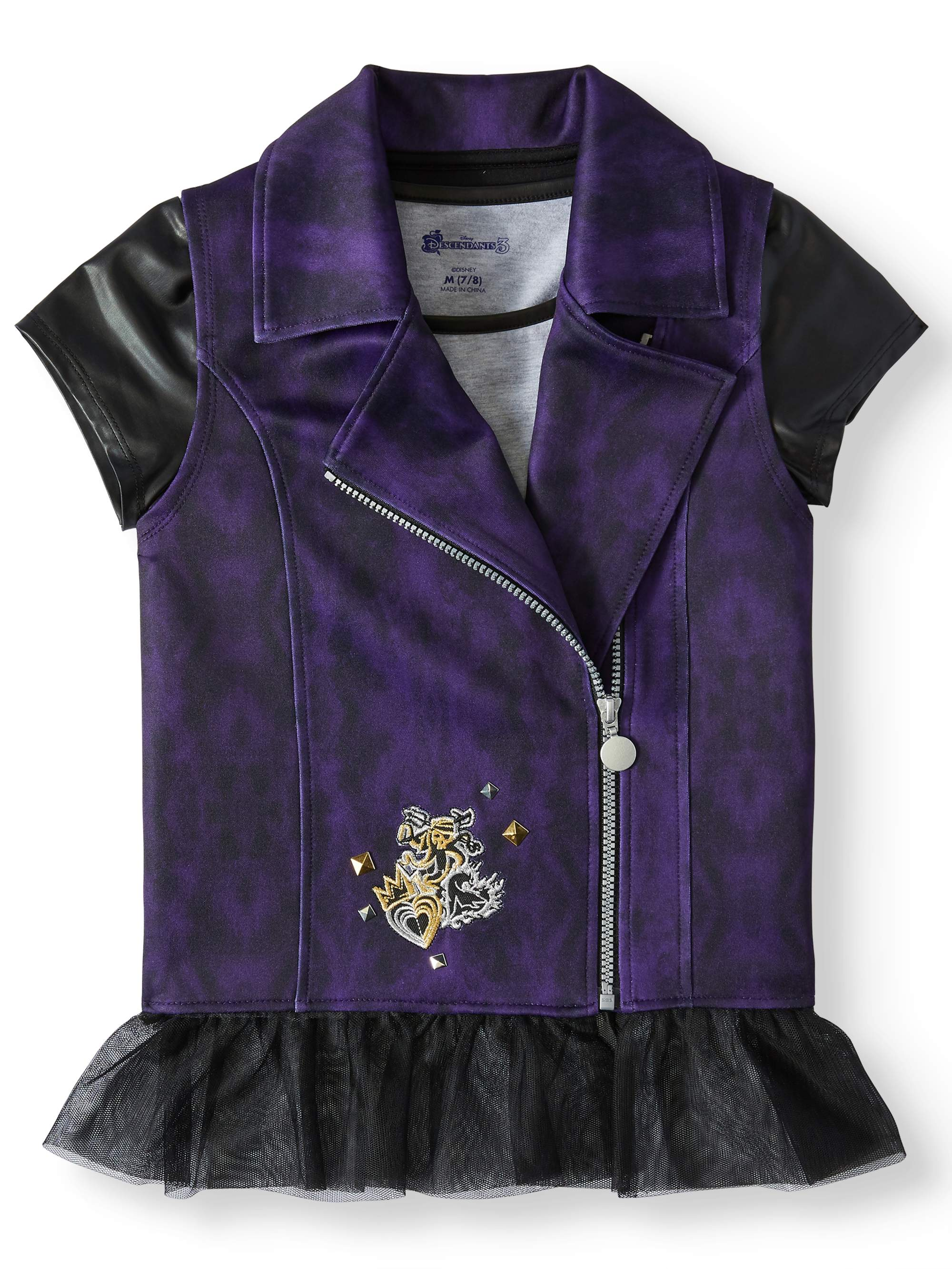 Little Girls /& Big Girls DESCENDANTS 3 Vest Top Combo Pack
