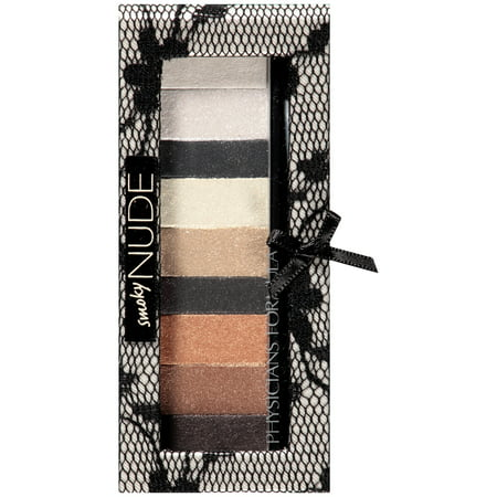 Physicians Formula Shimmer Strips Custom Eye Enhancing Eye Shadow Nude Collection - Smoky Nude Eyes