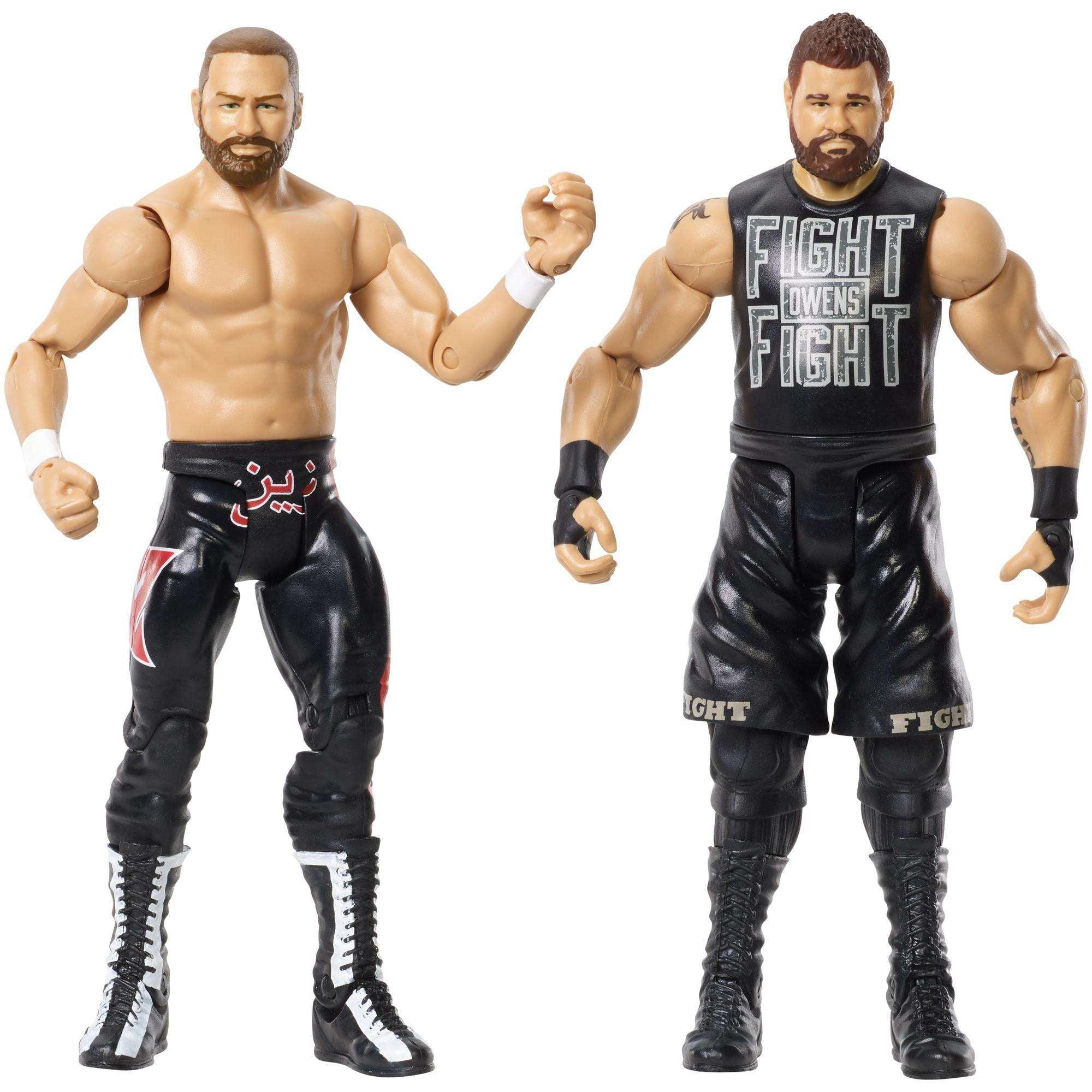 WWE Sami Zayne and Kevin Owens Action Figure, 2 Pack