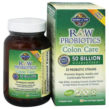 Garden of life raw probiotics colon care 33 probiotic - Garden of life raw probiotics side effects ...