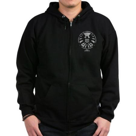 CafePress - Marvel Agents Of S.H.I.E.L.D. - Zip Hoodie, Classic Hooded Sweatshirt with Metal Zipper