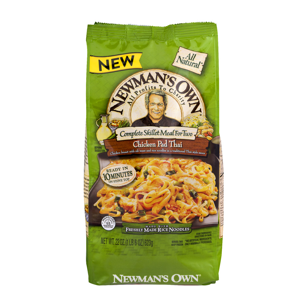 Newman's Own Complete Skillet Meal For Two Chicken Pad Thai, 22.0 OZ