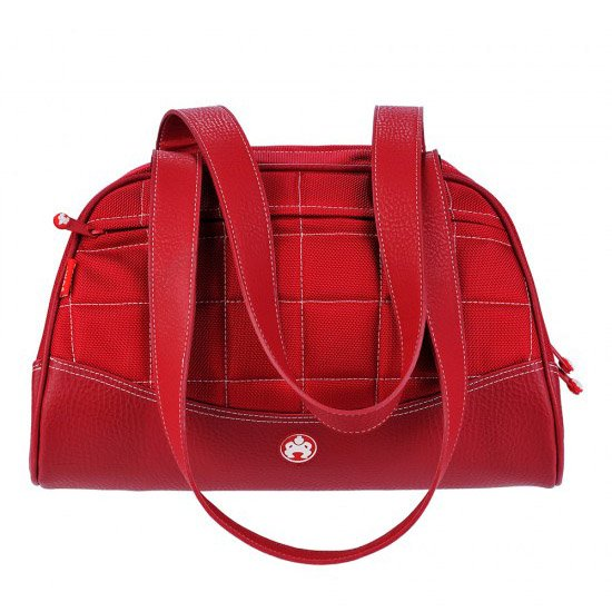 Sumo Duffel - Red with White Stitching - Small