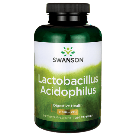 Swanson Lactobacillus Acidophilus 1 Billion Cfu 250 Caps