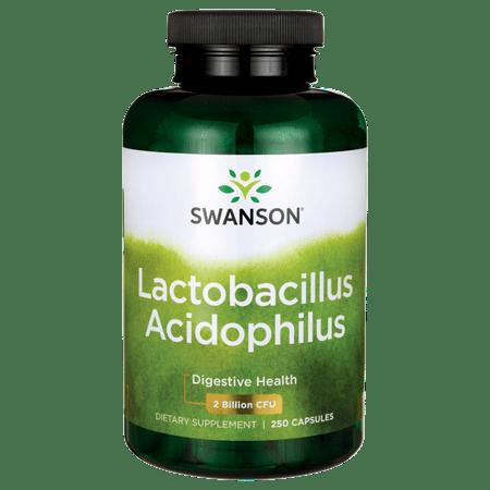 Swanson Lactobacillus Acidophilus 1 Billion Cfu 250 (Acidophilus 30 Caps)