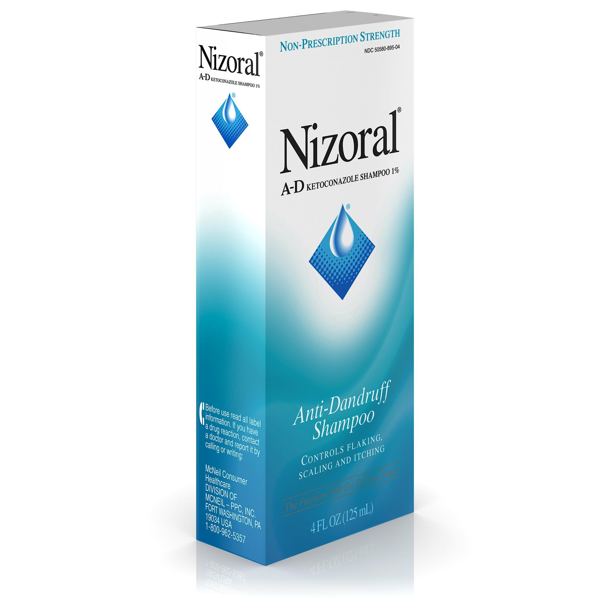 nizoral a d anti dandruff shampoo with ketoconazole 1 4 fl oz