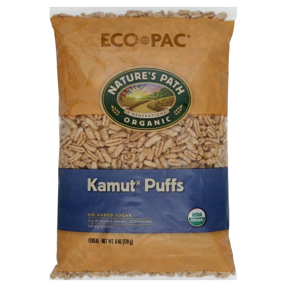 Nature's Path Organic Kamut Puffs Cereal, 6 Oz