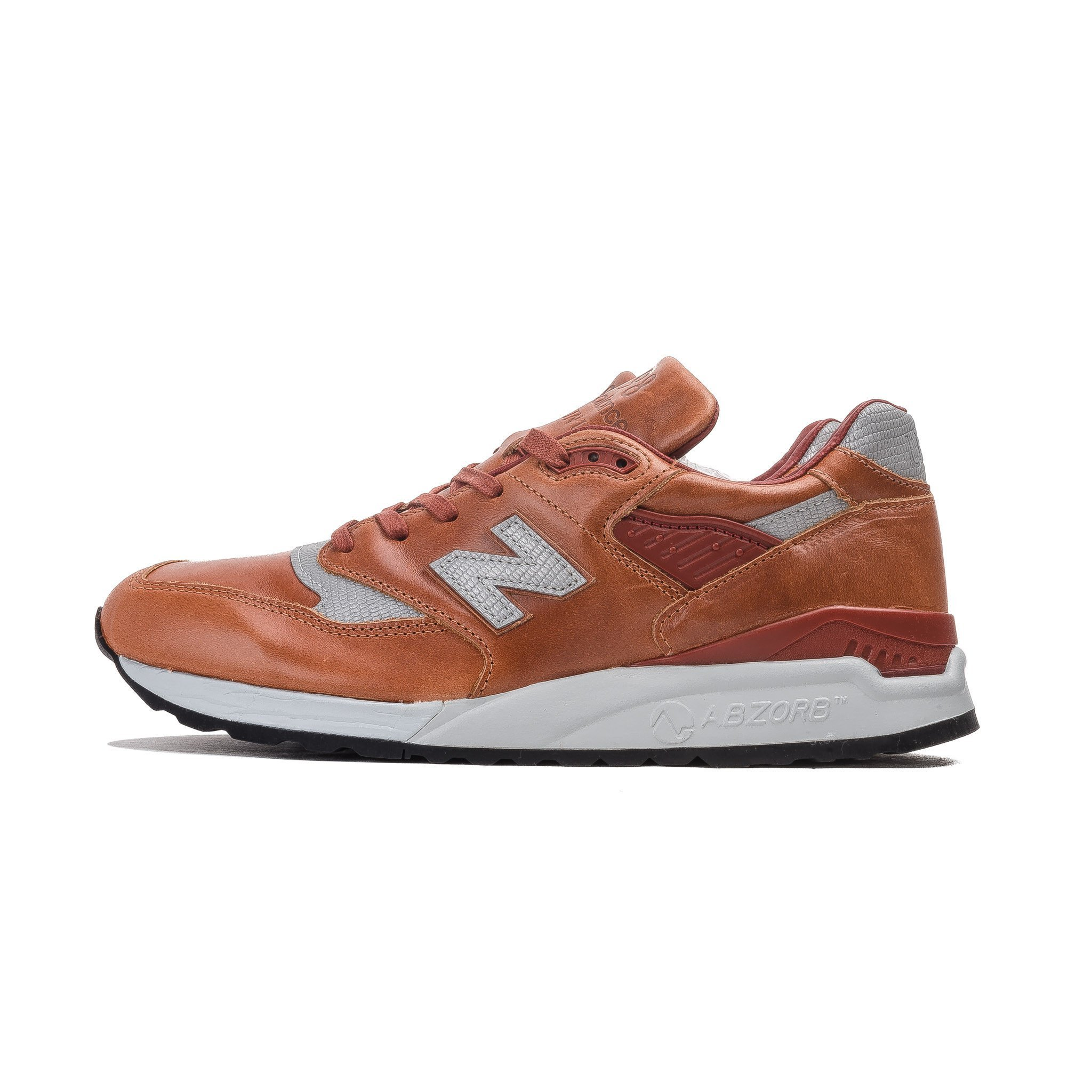 Mens New Balance 998 Made In USA Bespoke Horween Leather ...
