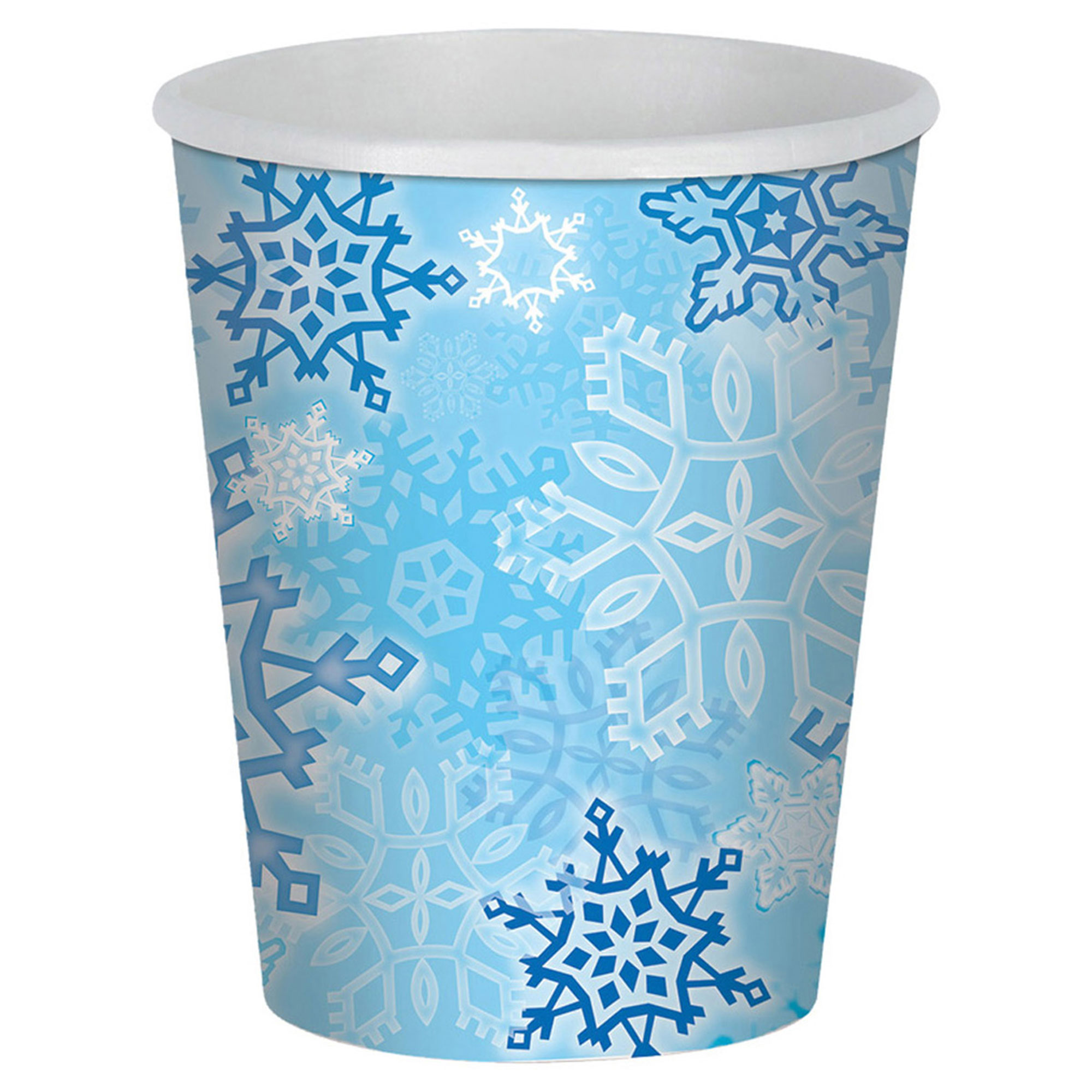 Morris Costumes Party Supplies Christmas Snowflake Beverage Cups, Style BG20939