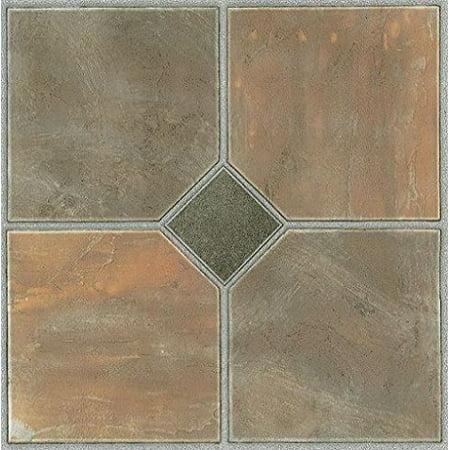 Park avenue collection tivoli rustic slate 12 inch x 12 for 12 inch floor tile