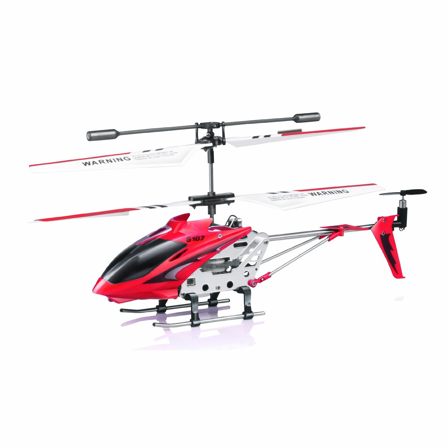 Syma S107 S107G R C Helicopter with Gyro- Red by Syma