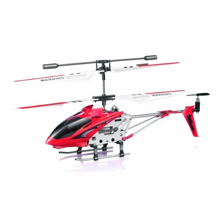 Syma S107/S107G  R/C Helicopter with Gyro- Red (Syma S107g Rc Helicopter Price In India)
