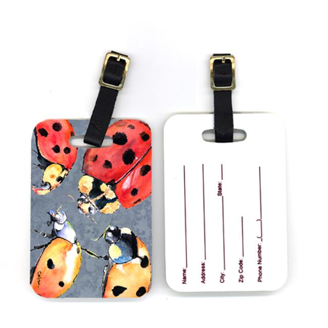 Pair of Lady Bug Multiple Luggage Tags