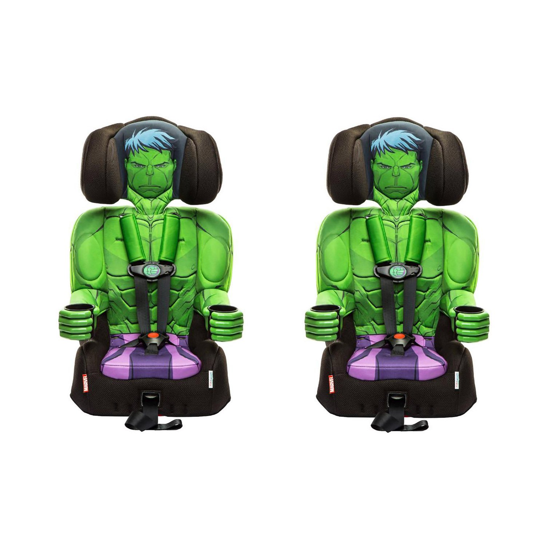 Kids Embrace Marvel Avengers Incredible Hulk Combo Booster Car Seat (2 Pack)