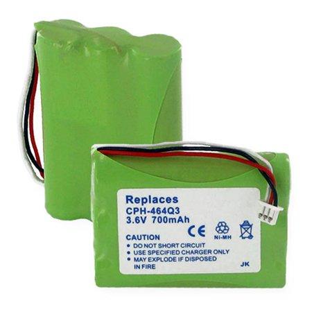 Empire CPH-464Q3 3.6V Uniden BT-930 Nickel Metal Hydride Battery 700 mAh - 2.52 watt