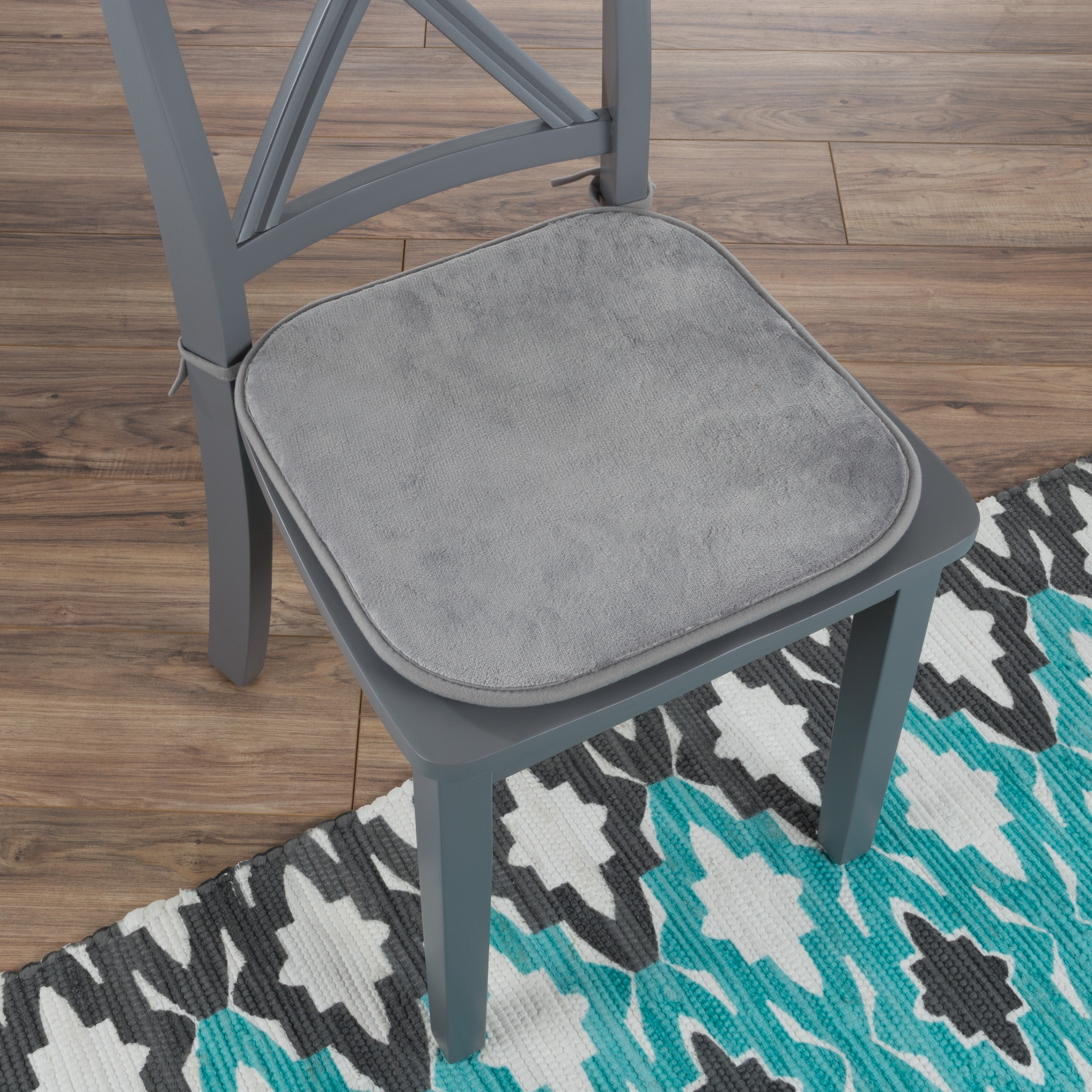 Memory Foam Chair Cushion Square 16Â X, Memory Foam For Dining Room Chairs