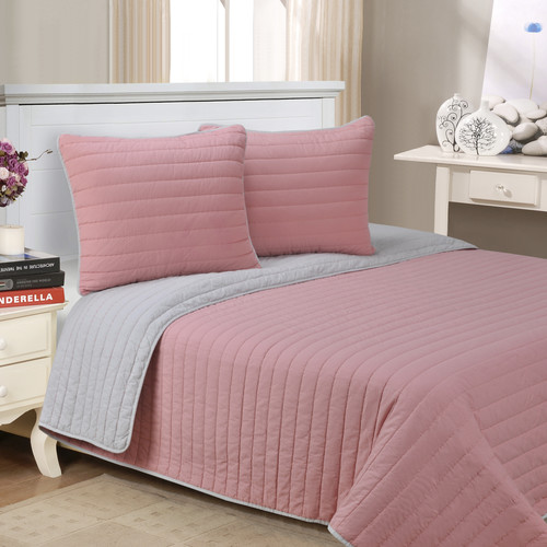 Alcott Hill Lynnhaven 3 Piece Reversible Quilt Set