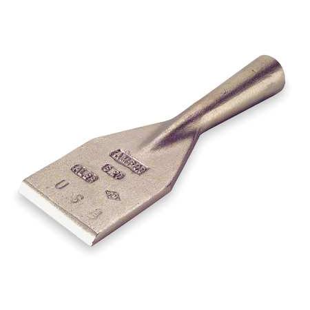 Ampco Scraper, Non-Sparking, Non-Magnetic, Corrosion Resistant, Aluminum Bronze, Bronze, S-22 ()