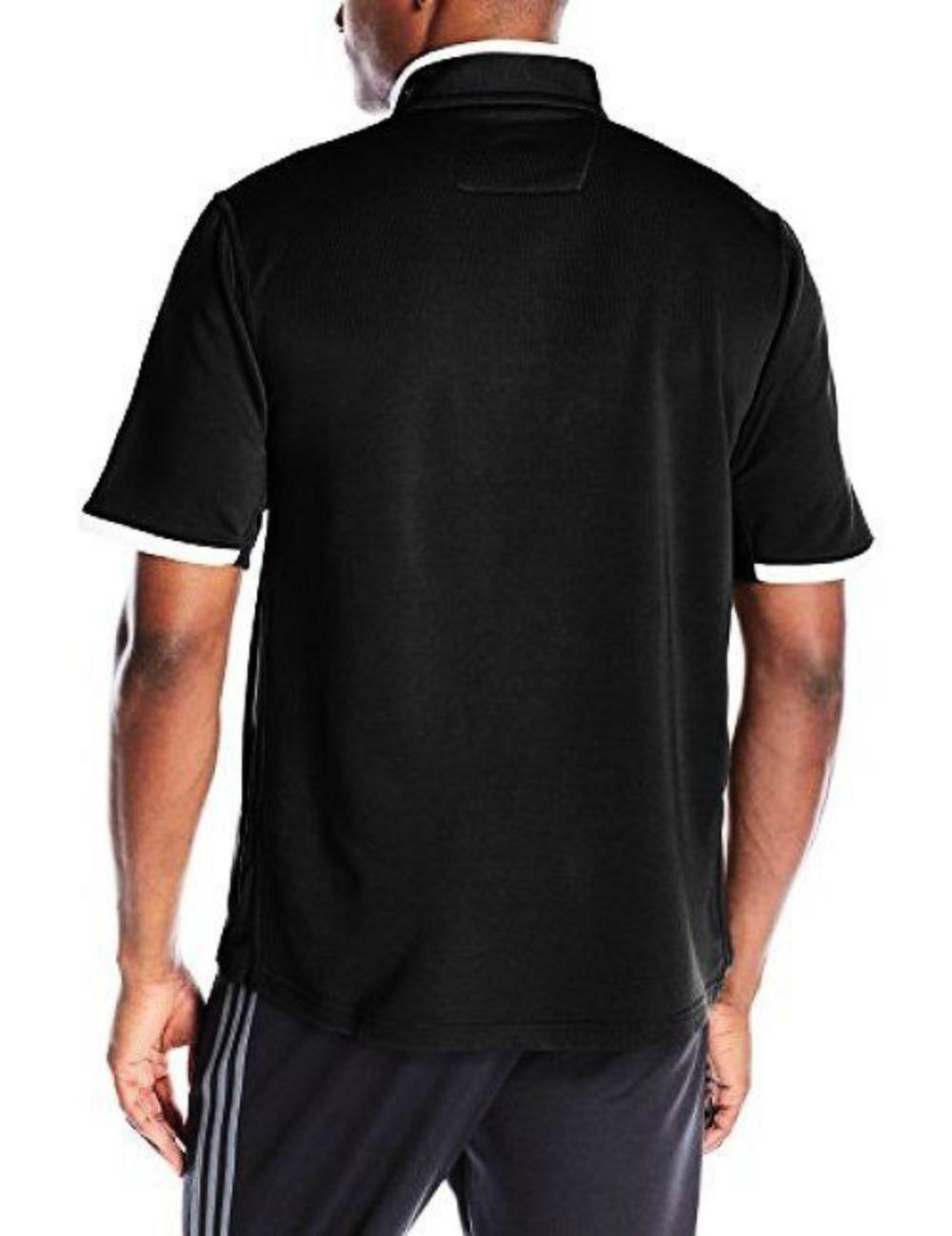 Adidas Men's Climalite Shockwave Short Sleeve 1/4 Zip Jacket ...