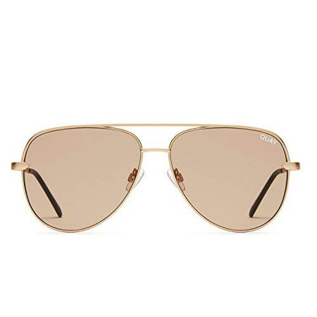 Quay Australia SAHARA Women's Sunglasses Oversized Aviator Sunnies - (Australian Gold Sunglasses)