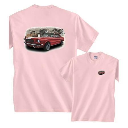 79a10cc8d8a29 Fair Game - 1966 Ford Mustang T-Shirt - Walmart.com