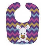 Carolines Treasures BB6901BIB Easter Rabbit With Chocolate Heart Baby Bib