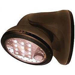 Fulcrum Products 1057371 20034-107 12 LED Porch Light, Bronze by