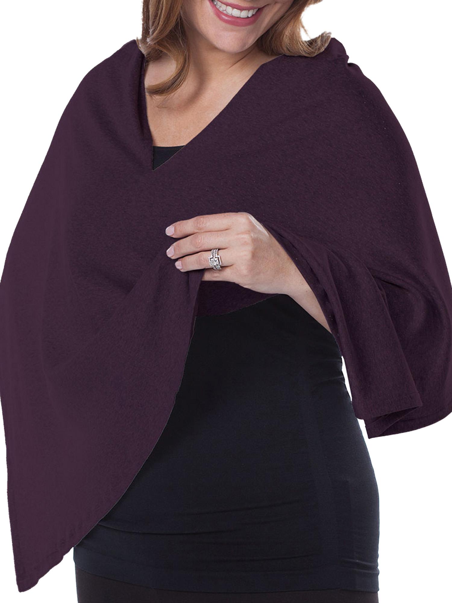 Maternity Nursing Cover Converts to Fashionable Nursing Scarf