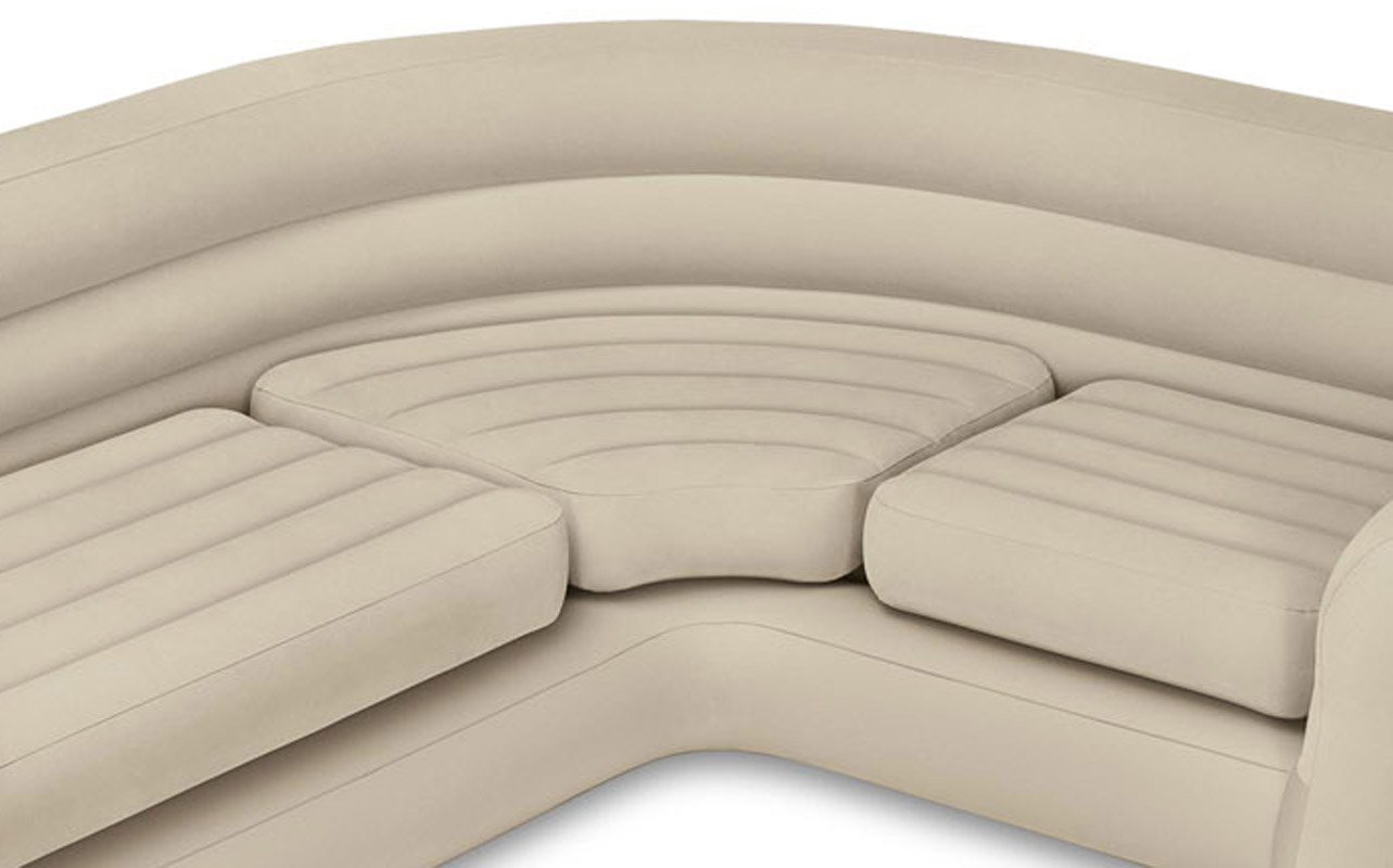 Superior Intex Inflatable Corner Sofa   Walmart.com
